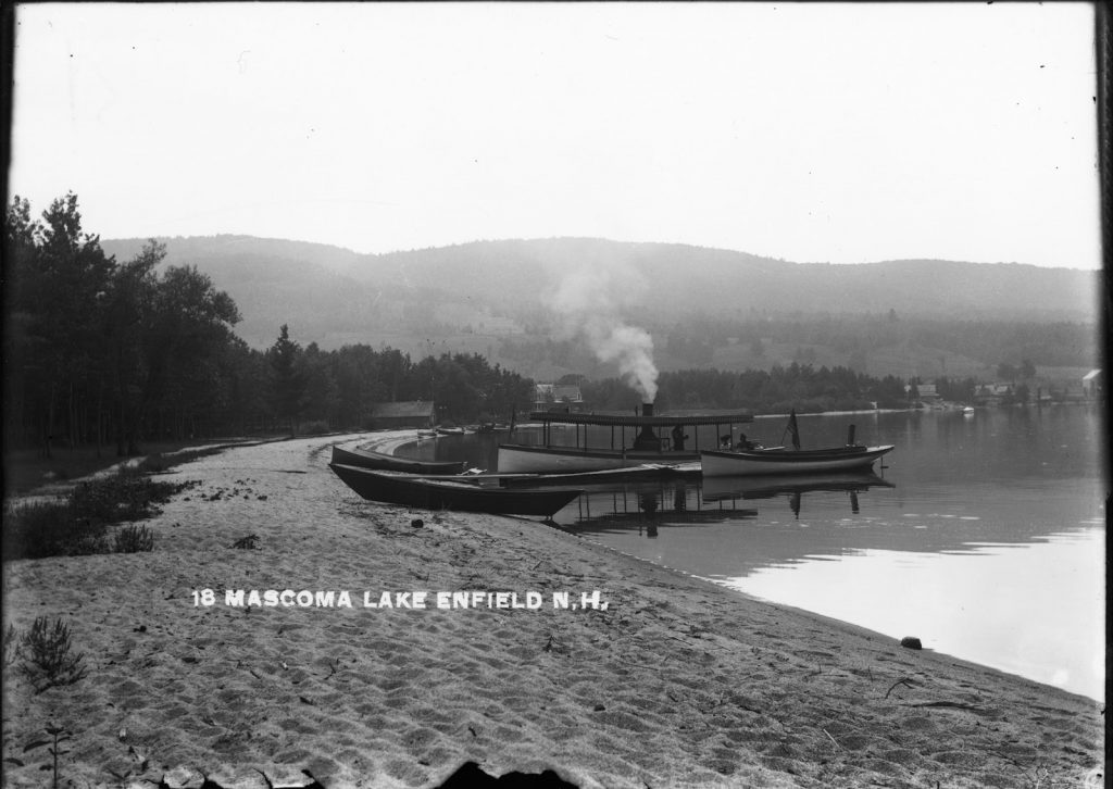 Historic Mascoma Lake boat landing