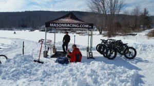 Mason Racing at Mascoma Lake
